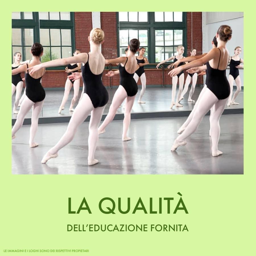 scuola di danza la qualita dell educazione fornita