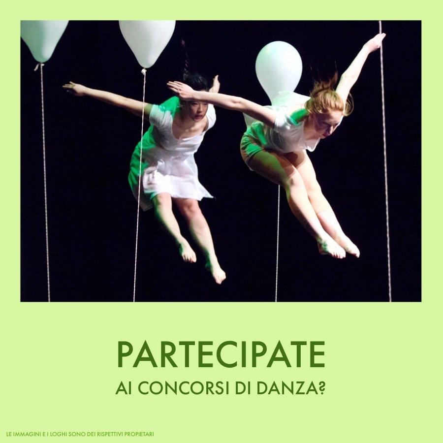 scuola di danza partecipate ai concorsi